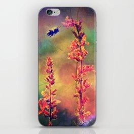 Bee N Wildflowers Diamond Earth Tones iPhone Skin