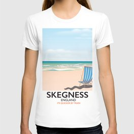 Skegness vintage style railway poster T-shirt