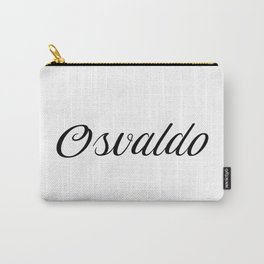 Name Osvaldo Carry-All Pouch