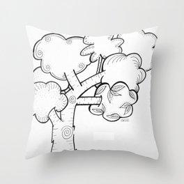 Littl' Tree Throw Pillow