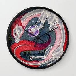 Axolotl Draconis Wall Clock