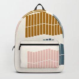 Geometric Piano Keys Backpack