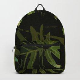 Leaves #green#leaves Backpack
