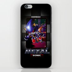 METAL Sonic  iPhone & iPod Skin