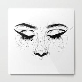 Starry Eyed Metal Print