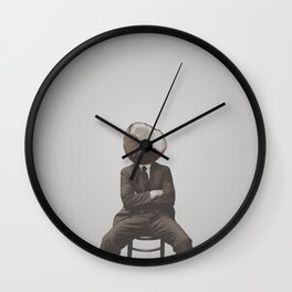 Coconut Mugshot Wall Clock