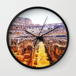 The Lions Den Wall Clock