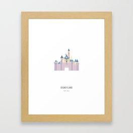 Disneyland / Sleeping Beauty's Castle Framed Art Print