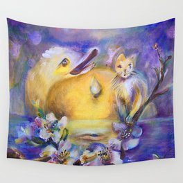 Water Drop Wall Tapestry