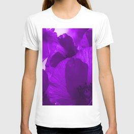 Ultra Violet Poppies #decor #society6 #buyart T-shirt