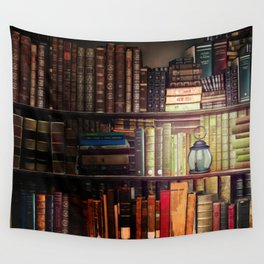 The Cozy Cottage Reading Nook Wall Tapestry