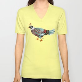 Pheasant Noble 2 Unisex V-Neck