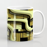 3d Mugs featuring 3d by Mickaela Correia