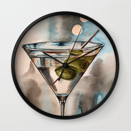 Martini Wall Clock