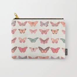 Butterflies in Pink Tones Carry-All Pouch
