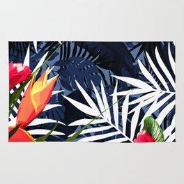 Bold Tropical Paradise Design Rug