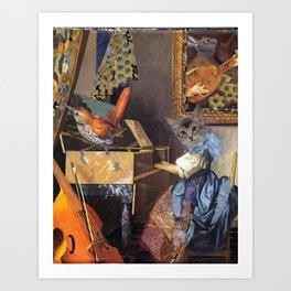 Music Hath Charms Art Print