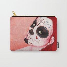 La Muerta Portrait Carry-All Pouch