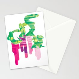 Twist Of Lime Stationery Cards