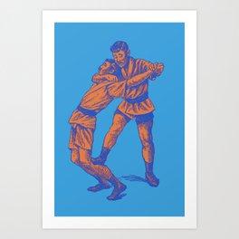 JIU JITSU 3 Art Print