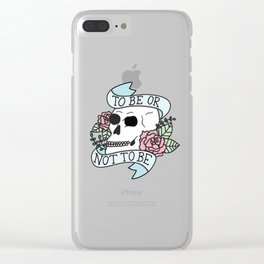 That is the Question Clear iPhone Case