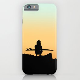 SURF CHECK iPhone Case