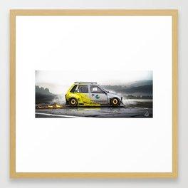 Hot Hatch Framed Art Print