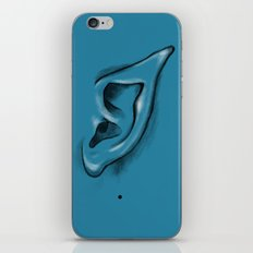 I am listening - and I am an Alien iPhone & iPod Skin