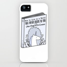 Magical Life Lessons iPhone Case