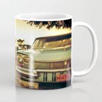 cuba Mugs featuring Cuba cars by gabyjalbert