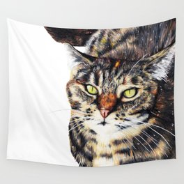 Kitty Cat Chili Wall Tapestry