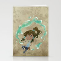 chibi Stationery Cards featuring Chibi Korra by Serena Rocca