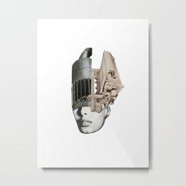 Visage Metal Print