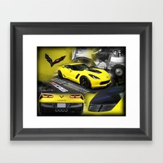 2015 Corvette ZO6 Framed Art Print