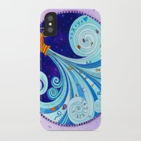 aquarius iPhone & iPod Cases featuring Aquarius by Sandra Nascimento