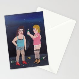 Two Generations of Fancy Ladies  Stationery Cards