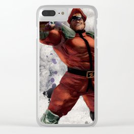 M Bison Clear iPhone Case