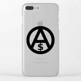 Anarcho-Capitalism Clear iPhone Case