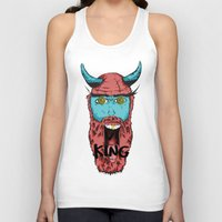 viking Tank Tops featuring Viking by Thekrls