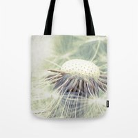 weed Tote Bags featuring a weed by Bonnie Jakobsen-Martin