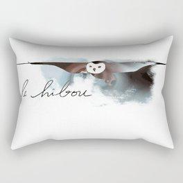 Storm Owl Rectangular Pillow
