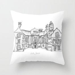 Satis House Throw Pillow
