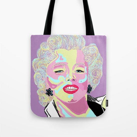 Marilyn M Tote Bag