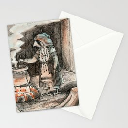 Late night Stationery Cards