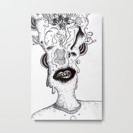 dripper Metal Print