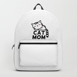 Cat Mom Backpack