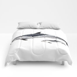Pantropical spotted dolphin Comforters