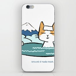 Traveling Kitty iPhone Skin