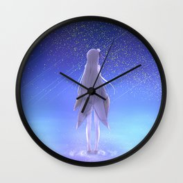 Emilia Re Zero Wall Clock