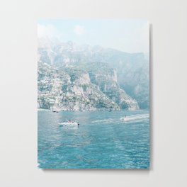 Ease By The Mountains Metal Print